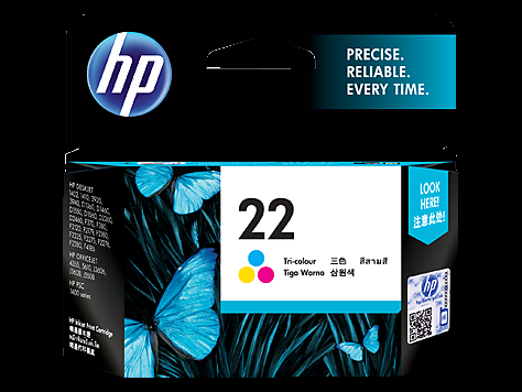 22 Tri-Color Ink Cartridge [C9352AA]