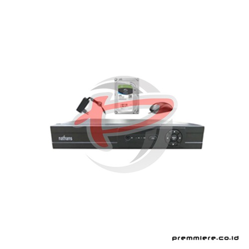 AHD Hybrid DVR 1080p 4 Port HDMI + HDD