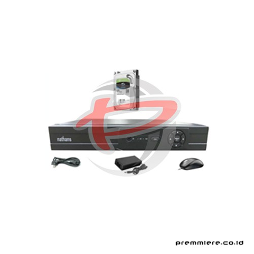 AHD Hybrid DVR 1080p 8 Port HDMI + HDD