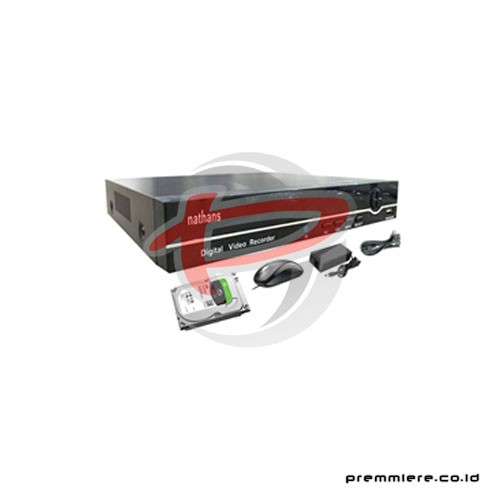 AHD Hybrid DVR 4.0MP 4 Port HDMI + HDD 2TB