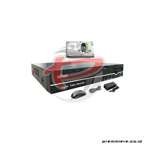 AHD Hybrid DVR 4.0MP 8 Port HDMI + HDD 4TB