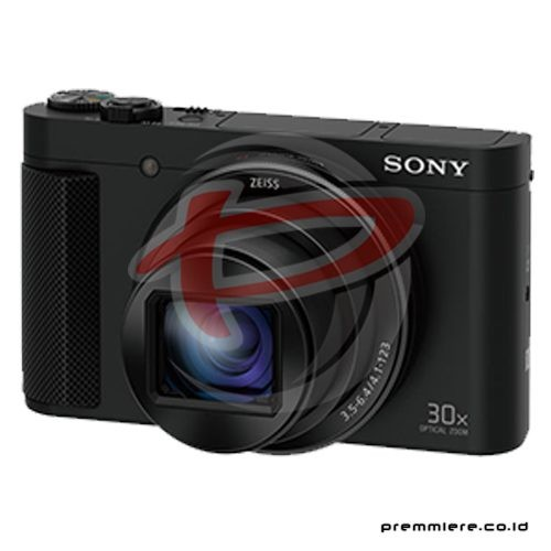 Cybershot DSC-HX90V Compact Camera 30x Optical Zoom - Black with memory 8GB