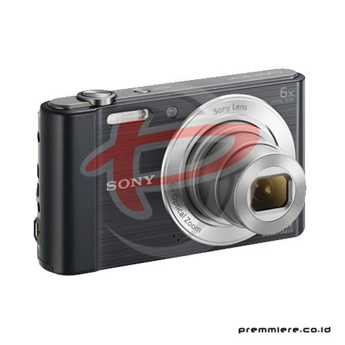Cybershot DSC-W810 Compact Camera 6x Optical Zoom - Black