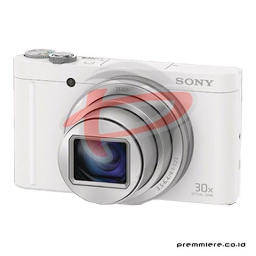 Cybershot DSC-WX500 Compact Camera 30x Optical Zoom - White with memory 8GB