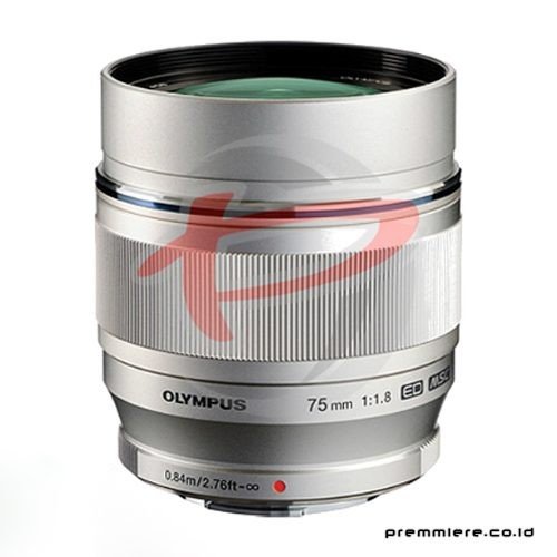 Lens M.Zuiko Digital ED 75mm f/1.8 Silver