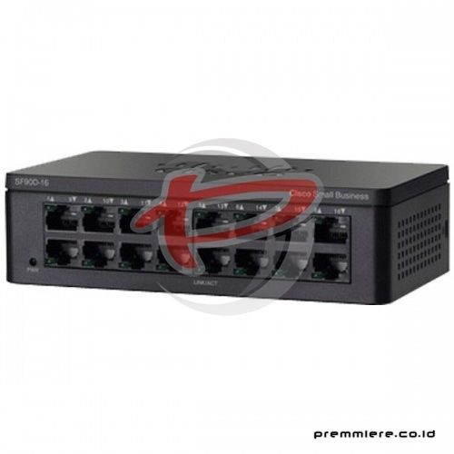 16-Port 10/100 Desktop Switch [SF95D-16-AS] with 12 Months Smartnet