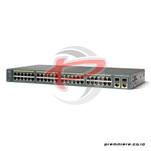 Catalyst 2960 Plus 48 10/100 + 2 T/SFP LAN Lite With 12 Months Smartnet [WS-C2960+48TC-S]