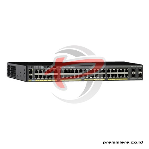 Catalyst 2960-X [WS-C2960X-48LPS-L] With 12 Month Smartnet