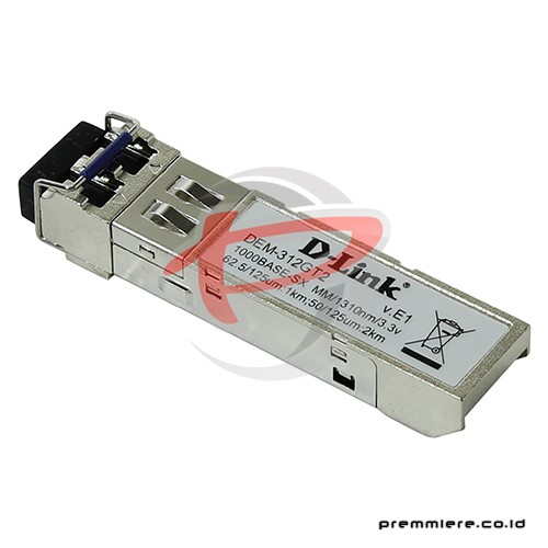1000BASE-SX multi-mode SFP transceiver [DEM-312GT2]
