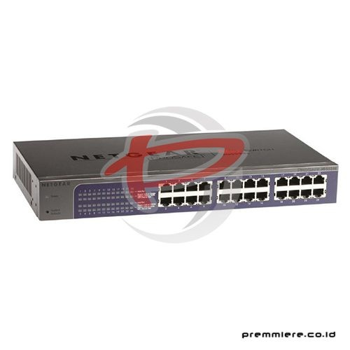 ProSAFE 24-port Gigabit Ethernet Switches [JGS524E]