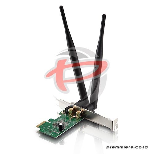 300Mbps Wireless N PCI-E Adapter, Detachable Antennas [WF2113]