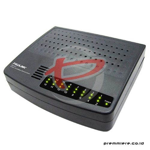 16-Port 10/100Mbps Ethernet Switch [PSE1611]