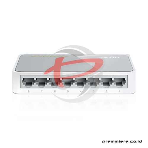 8-port 10/100M mini Desktop Switch, 8 10/100M RJ45 ports, Plastic case [TL-SF1008D(UN)]