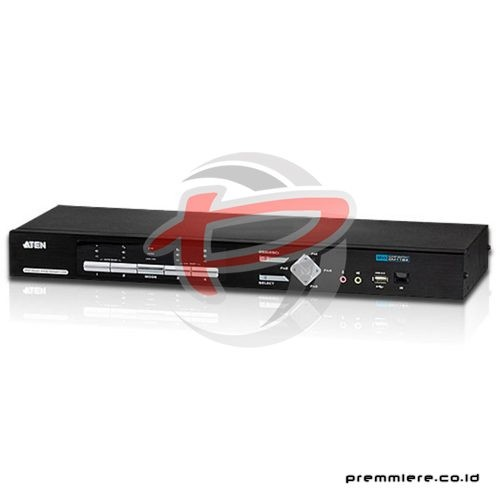 4-Port USB DVI Multi-View/Audio KVM Switch (CM1164)