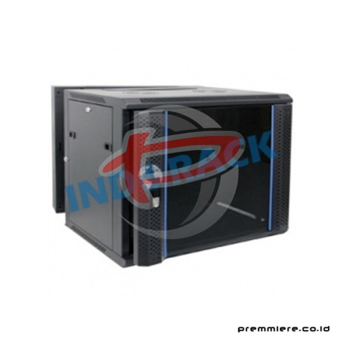 "19"" Wallmount Rack 8U depth 550mm, Double Door [WIR5508D]"