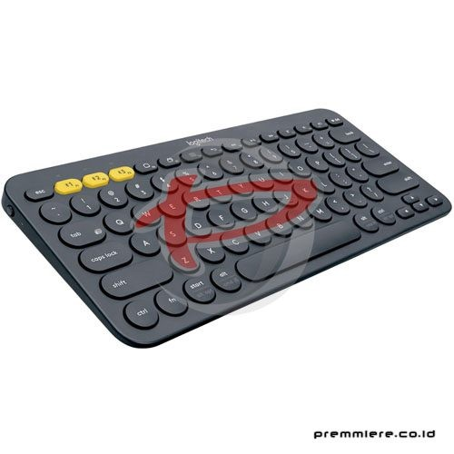 K 380 Multi-Device Bluetooth Keyboard - Black (920-007596)