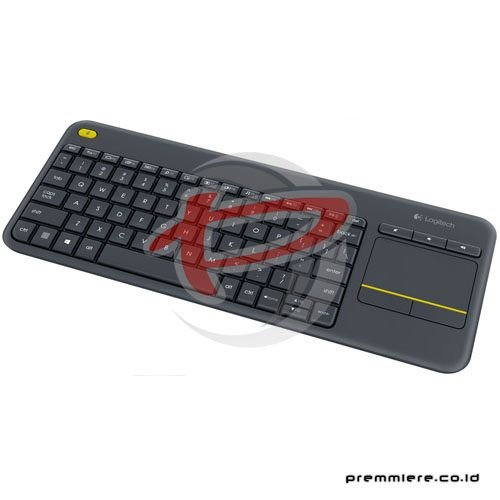 K 400 Plus Wireless Touch Keyboard - Black (920-007165)