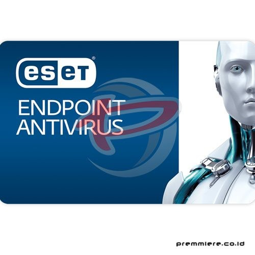 Endpoint Antivirus (Client Protection, 1 tahun, 9 seats - EEAB-N1) + (Product Kit- EEAB-KIT)