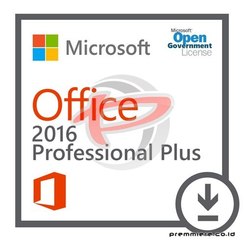 [Office Professional Plus]OfficeProPlus 2016 OLP NL Gov[Pemerintah]