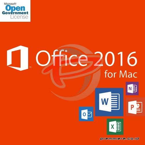 [Office Mac Standard]OfficeMacStd 2016 OLP NL Gov[Pemerintah]