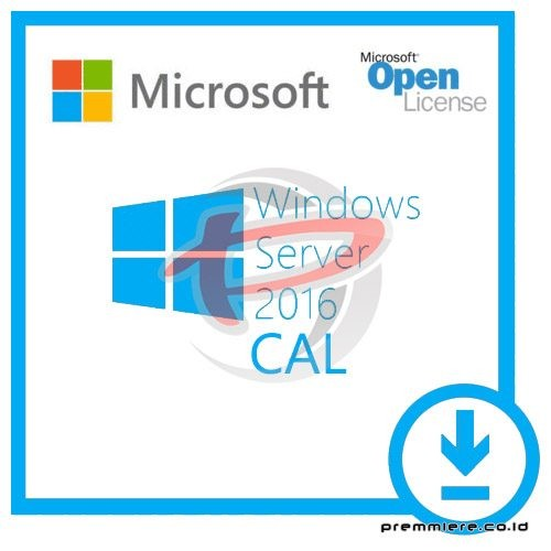 [Windows Server CAL]WinSvrCAL ALNG LicSAPk OLV E 1Y Acdmc Ent UsrCAL[Pendidikan]