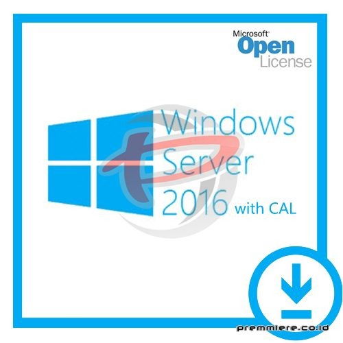 Windows Server 2016 Standard – maksimal 16 core with 5 CAL - Gov