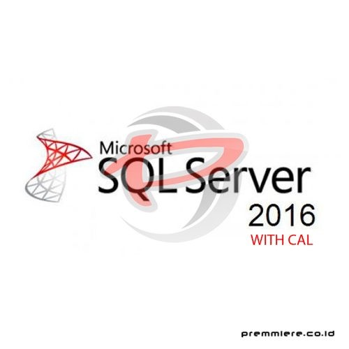 SQL Server Standard 2016 with 5 CAL - Gov