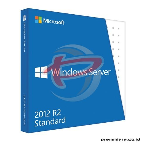 Windows Svr Std 2012 R2 64Bit English DVD 5 Clt (P73-05966) - FPP