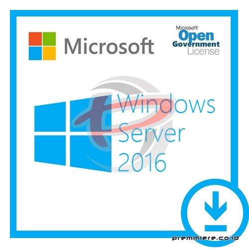 [Windows Server STD CORE]WinSvrSTDCore 2016 OLP 2Lic NL Gov CoreLic[Pemerintah]