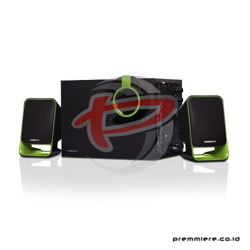 Speaker 2.1 [Morro 3 BTMI] - Black Green